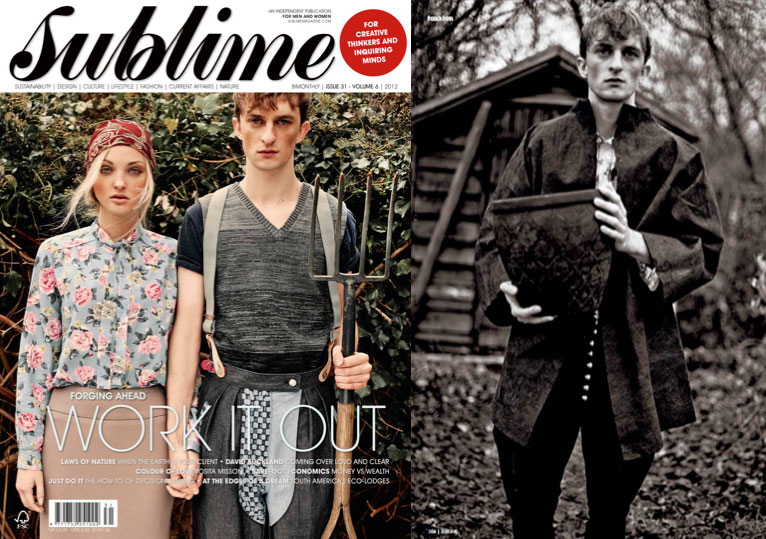 José Hendo featured in Sublime Magazine